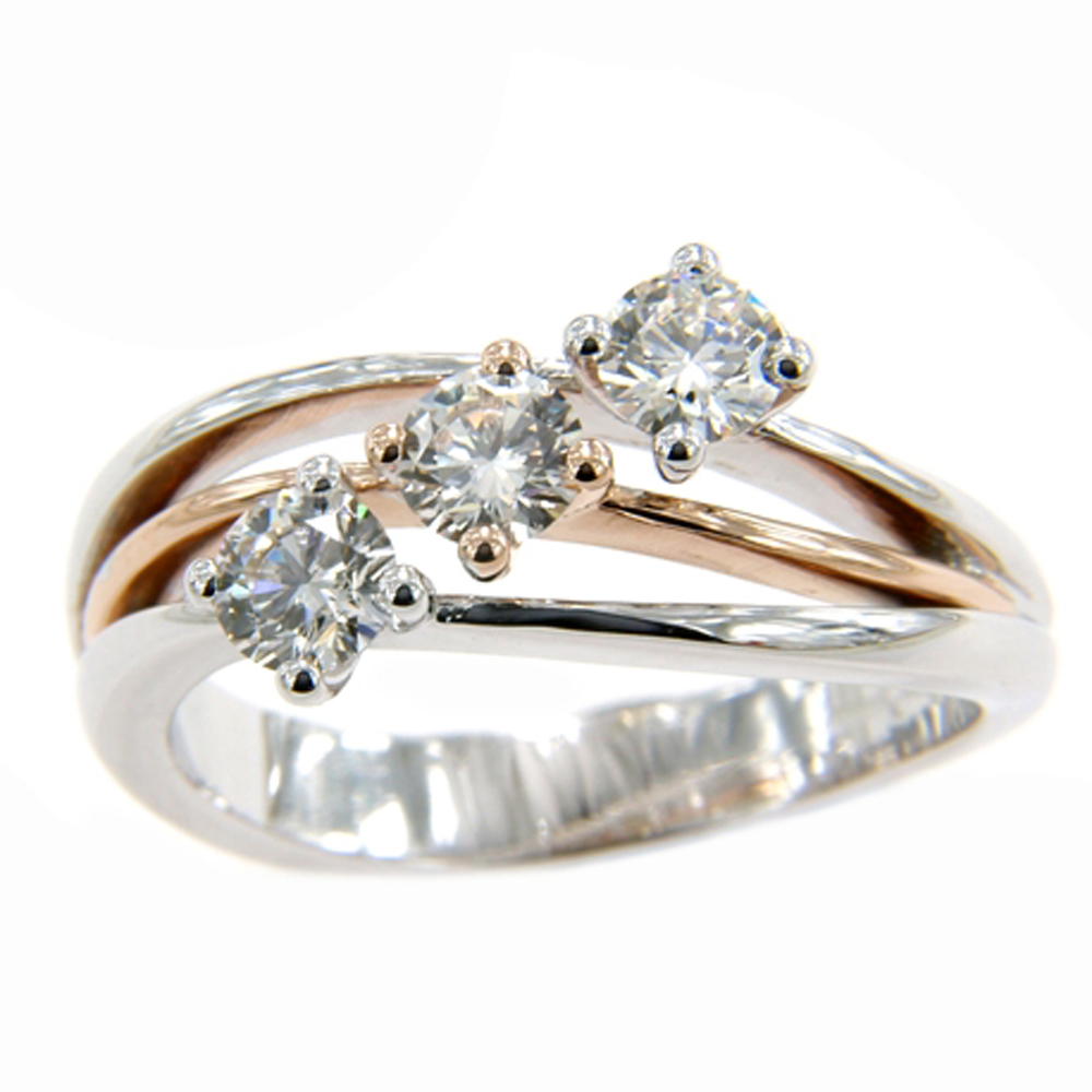 old ring jewellery product edwardian diamond cut rings details gold white trilogy diamonds