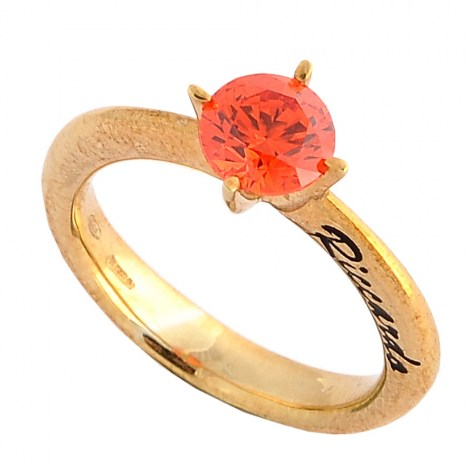 Arancio - Solitaire rings color