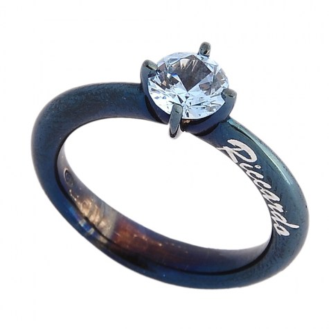 Azzurro - Solitaire rings color