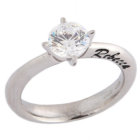 Bianco - Solitaire rings color
