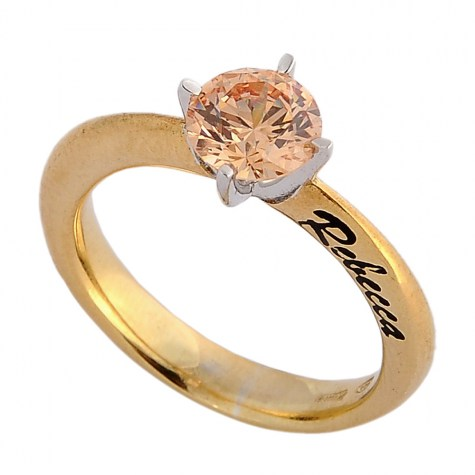 Marrone - Solitaire rings color
