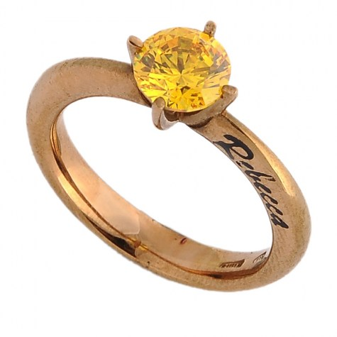 Giallo - Solitaire rings color