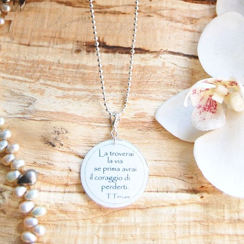 Eugénie - Necklaces with sentences