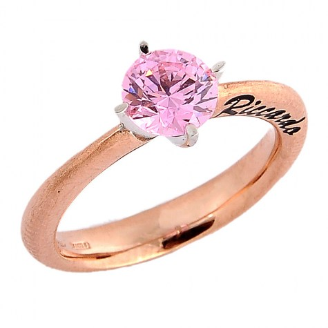 Rosa - Solitaire rings color
