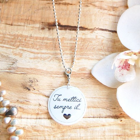 Eméline - Necklaces with sentences